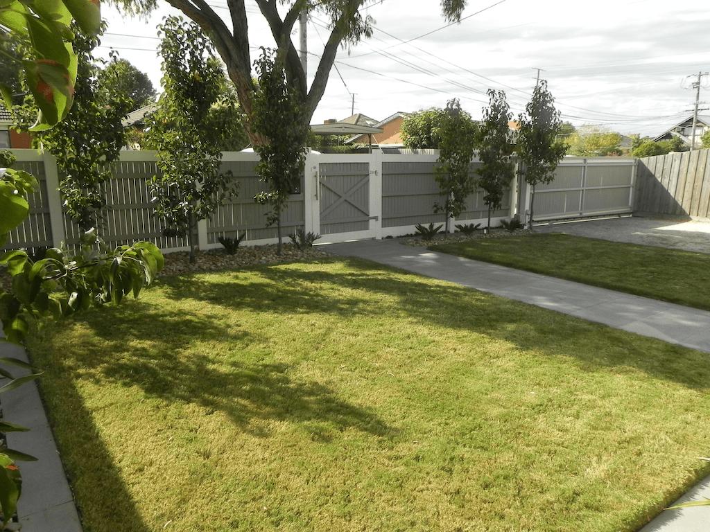 Landscape construction project 3 forever green for Landscape contractors melbourne