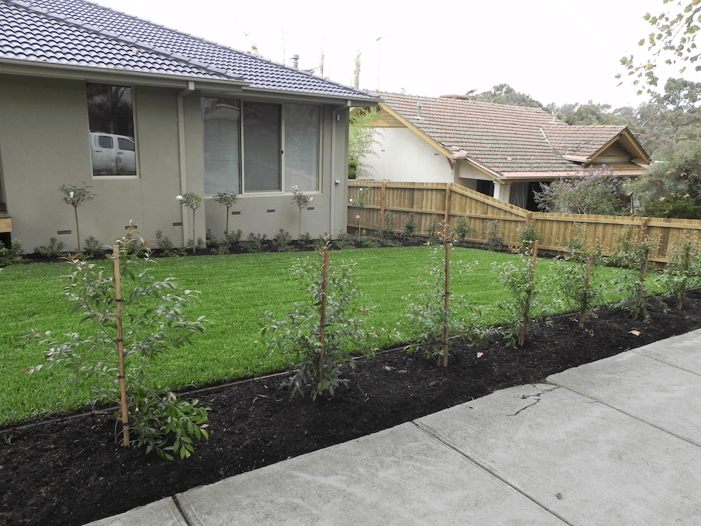 Landscape construction project 4 forever green for Landscape construction melbourne