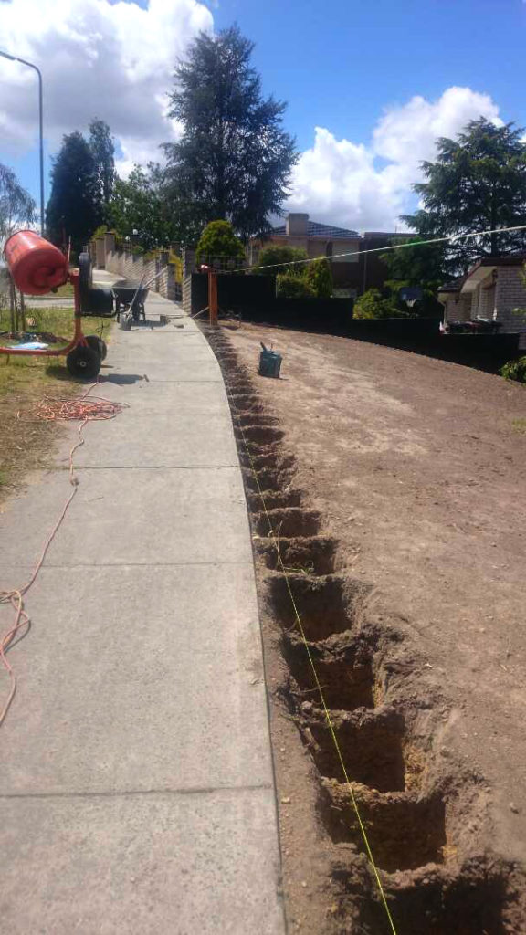 Landscape construction project 6 forever green for Landscape construction melbourne
