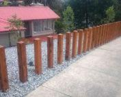 landscape construction project