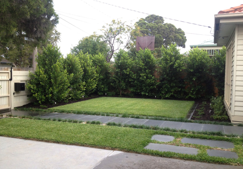 Landscape construction project 9 forever green for Landscape construction melbourne