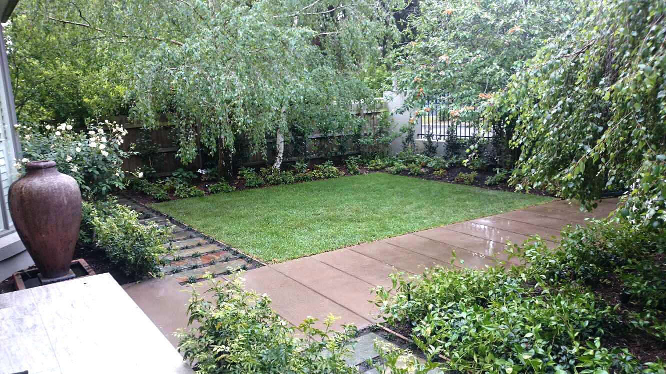 landscape construction project 10 forever green landscaping